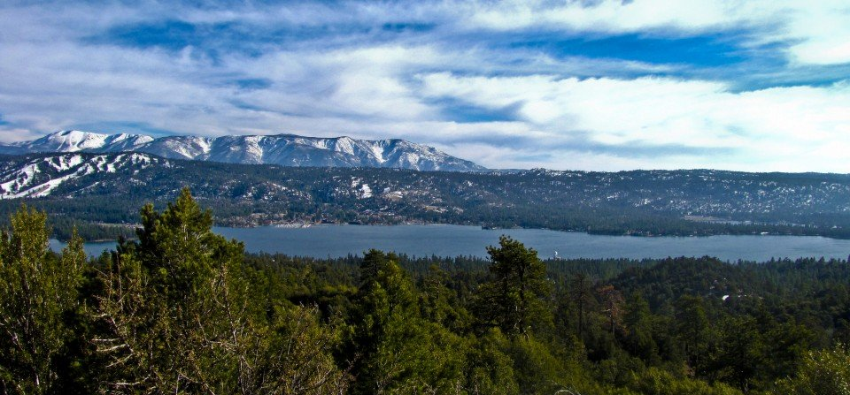 Looking Across the Lake - Big Bear Real Estate