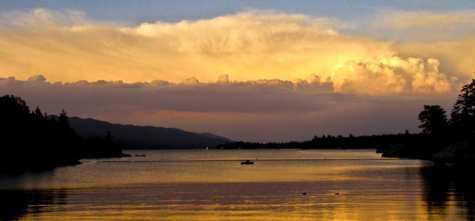 Golden Sunset - Big Bear Real Estate
