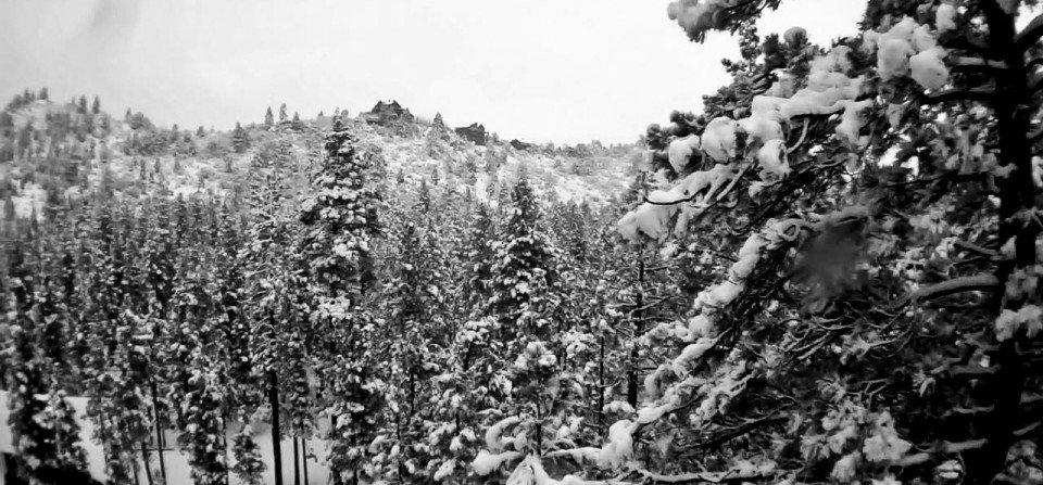 Mountains in Winter - Big Bear Real Estate