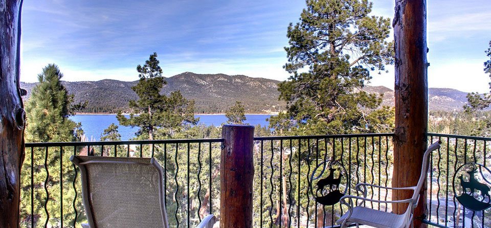 Outlook Deck - Big Bear Real Estate