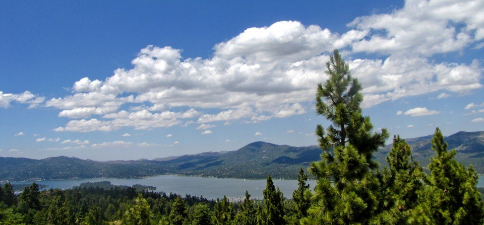 Pine Trees over the Lake - Big Bear Real Estate